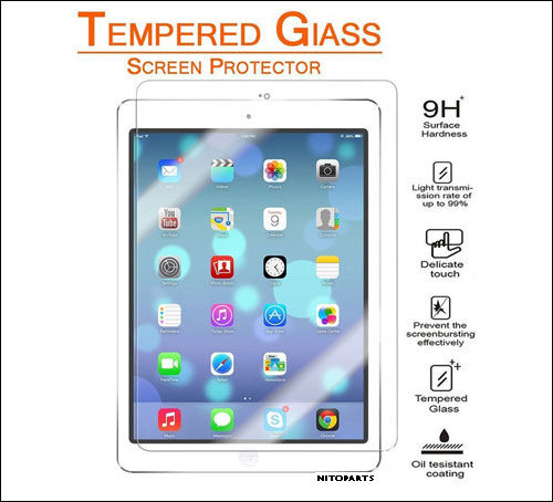 [3-Pack] Tempered Glass Screen Protector For iPad 9.7 2 Mini 4 Pro Air 4th 6th    eBay