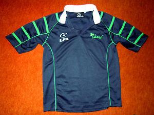 Exkl-Shirt-Trikot-Halbarm-LFR-LIVE-FOR-RUGBY-IRELAND-fuer-9-11-Jahre-TOP