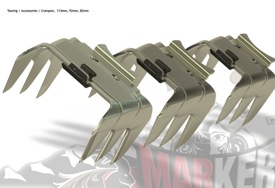 Rampant Crampons Knives for MARKER TOUR   BARON DUKE by max center ski 120 mm