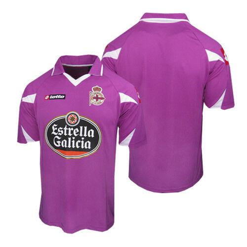Poco común  Lotto Deportivo Los Angeles Coruña España Fútbol Fútbol Camiseta Jersey  3RD para hombre Talla XL