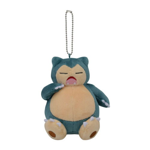 Snorlax Yawn Kabigon Plush Keychain Pokemon Center Japan Original