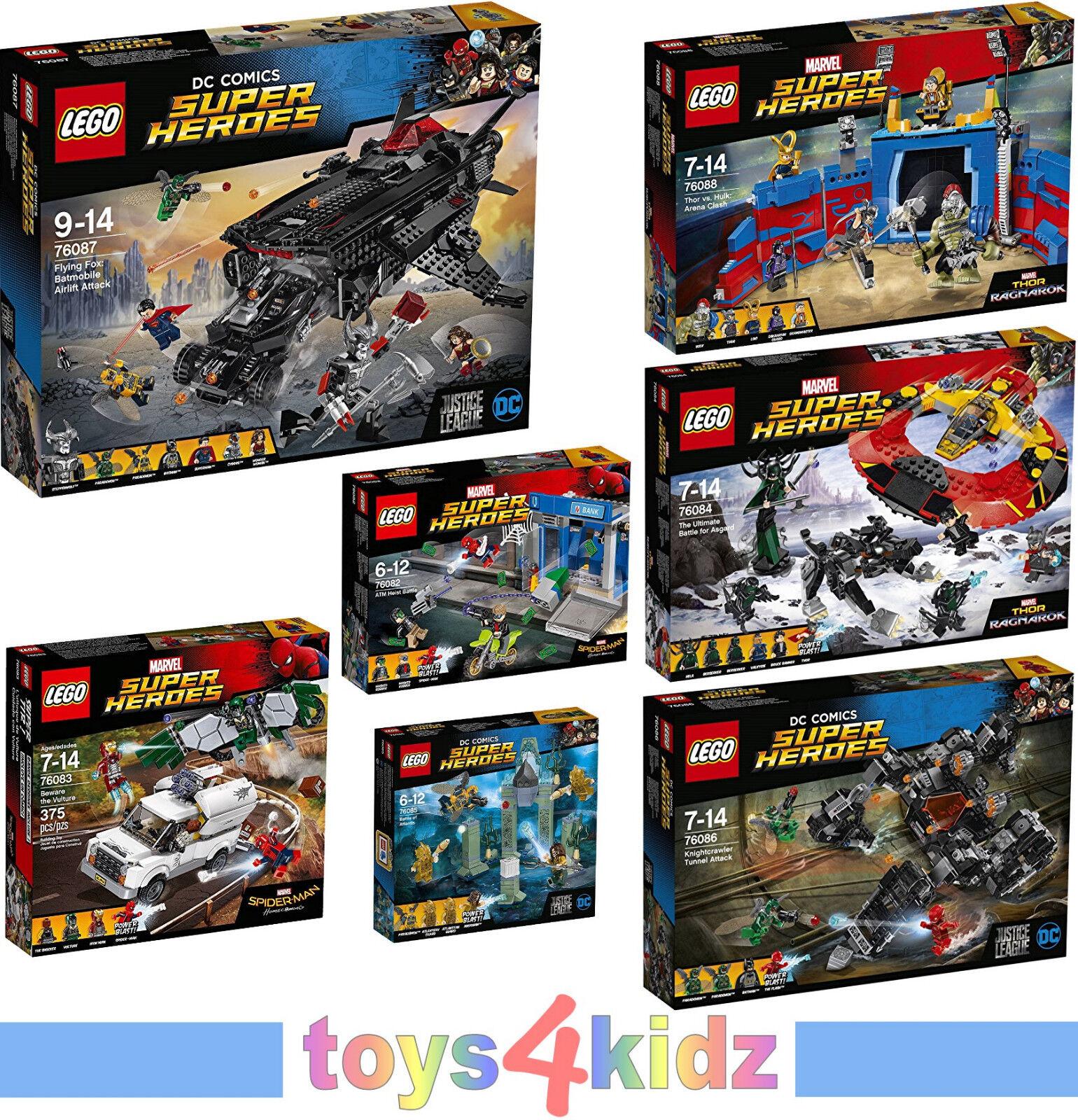 LEGO® SUPER HEROES 76082 - 76088 zum Auswählen   NEU / OVP