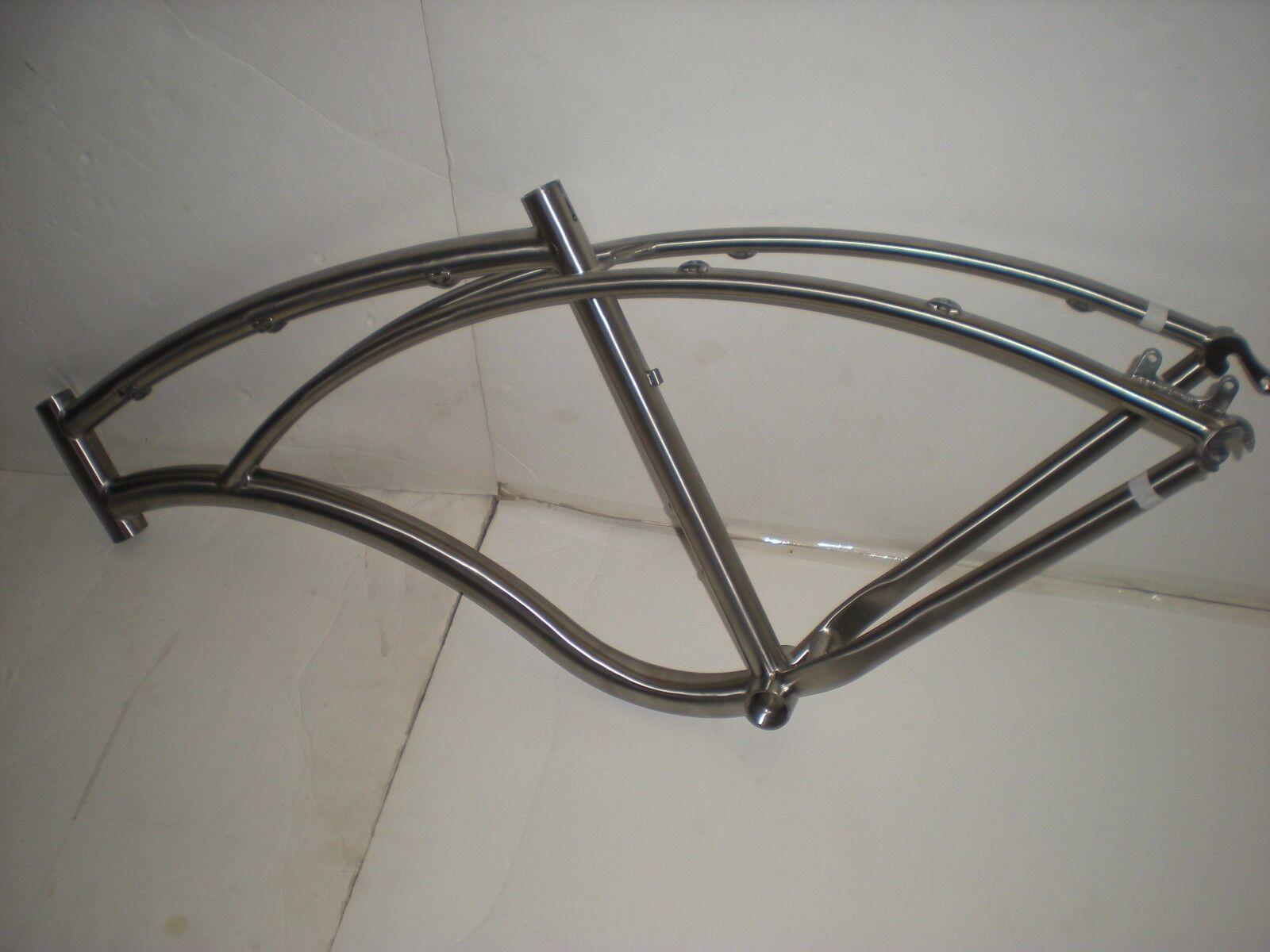 Carver Bikes 29'er Titanium Newsboy Frame 18  BRAND NEW