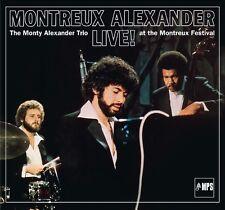 MONTY TRIO ALEXANDER -MONTREUX ALEXANDER-LIVE! AT THE MONTREUX FESTIVAL CD NEU