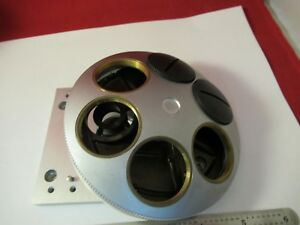 LEICA-DMR-GERMANY-EMPTY-NOSEPIECE-MICROSCOPE-part-as-pictured-amp-100-03