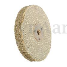 6'' 150*20mm Sisal Cloth Buffing Wheel For Metal Stainless Steel Polishing Tool