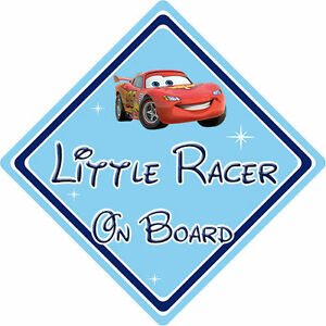 Image Is Loading Little Racer On Board Car Sign Baby
