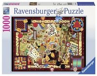 Vintage Games - 1000pc Jigsaw Puzzle By Ravensburger on Sale