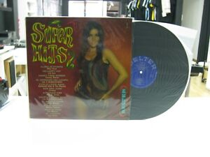 Super-Hits-LP-Spanisch-Jess-amp-James-Los-Gritos-1964-Sexy-Nude-Cover