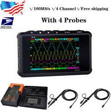 Ds213 Digital Oscilloscope Radio Frequency Analyzer 100m Sas 4channel4 Probe