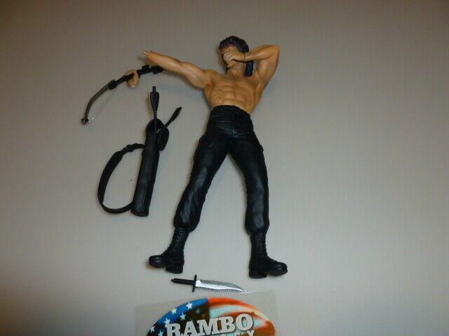 RAMBO TRILOGY Mirage Toys Action Figure bellissimo pupazzo raro