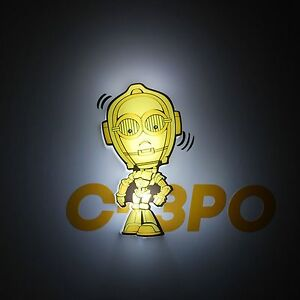 STAR WARS C-3PO 3D LED DECOR WALL LIGHT NEW LIGHTING