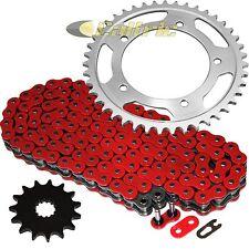 Red O-Ring Drive Chain & Sprockets Kit Fits SUZUKI GSX-R600 GSXR600 2006-2010