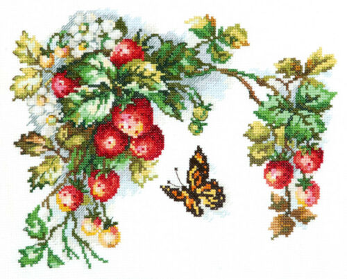 Cross Stitch Kit Sweet fruits art 55-10