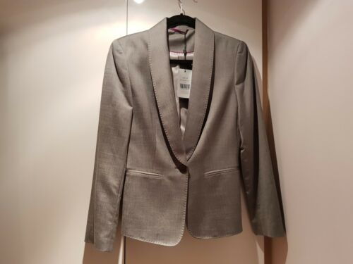 10 New Jacket Size Sharkskin Grey Austin Reed fnxwqX0zg