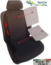 ALFA ROMEO 147 Schienale, Coprisedile Auto con Ricamo disponibile in più colori!