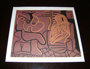Spain-Picasso-approx-1980-color-lino-cut-SPADEM-Limited-Edition-2