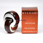 Mini Perfume Bulgari OMNIA EDP 5 ml Miniature Bottle New in Box