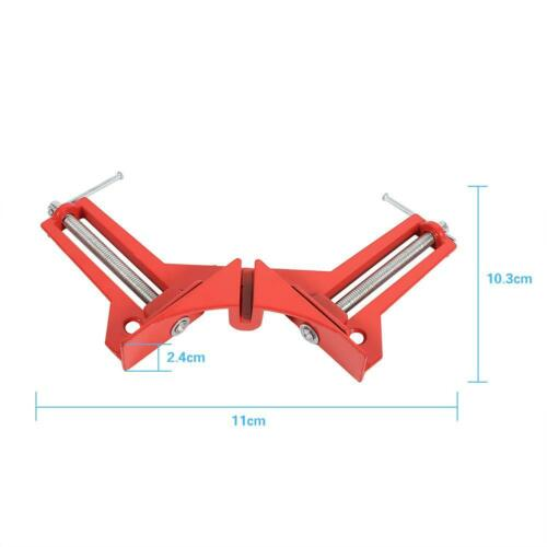 90Degree Right Angle Corner Clamp Fixture Picture Frame Holder Woodworking Tool