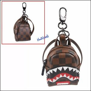 Image is loading SPRAYGROUND-Limited-Edition-Sharks-in-Paris-Mini-Backpack- e3cfc6379af25