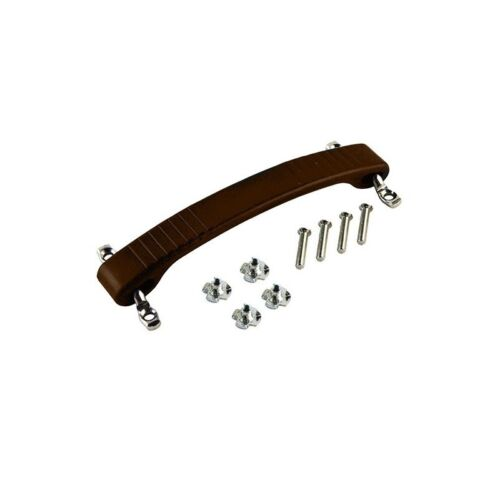 Brown Dogbone Style Handle with Mounting Hardware For Fender Amps and Others