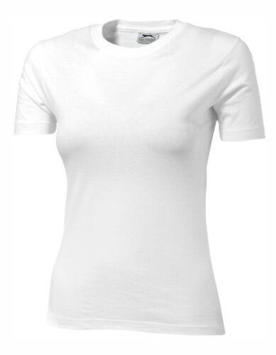 Slazenger Ace Ladies` T-Shirt Kurzarm Rundhals Damen T Shirt S M L XL Neuware