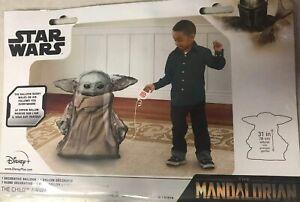 Mandalorian-Baby-Yoda-Airwalker-31-034-Star-Wars-The-Child-Foil-Mylar-Balloon