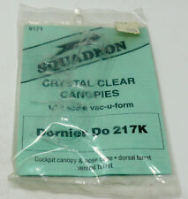 Squadron 1:72 Dornier Do 335 A-12 Crystal Clear Canopy Vacuform Detail #9151