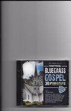 """TRADITIONAL BLUEGRASS GOSPEL, CD """"30 POWER PICKS"""" NEW SEALED"""