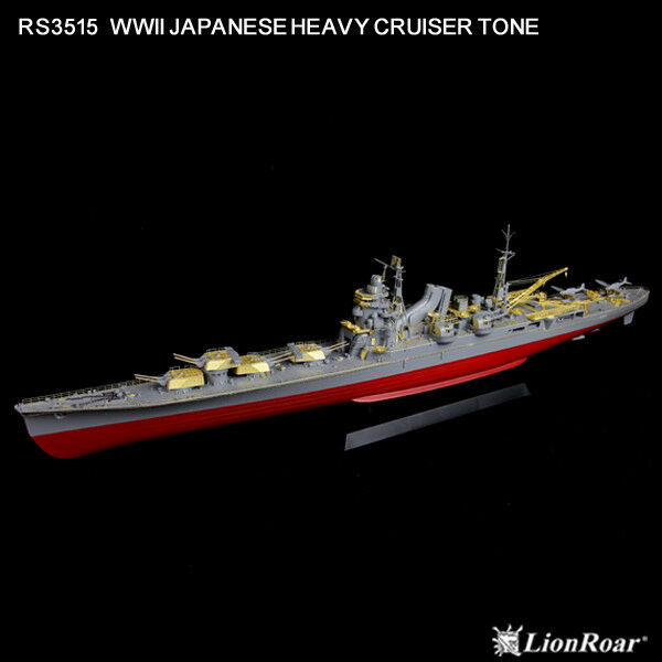 LionRoar Photo-etched details 1 350 WWII JAPANESE HEAVY CRUISER TONE