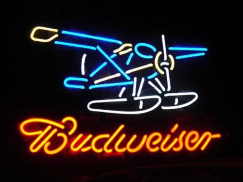 "New Budweiser Seaphane Bud Beer Light Lamp Bar Neon Sign 20/"""