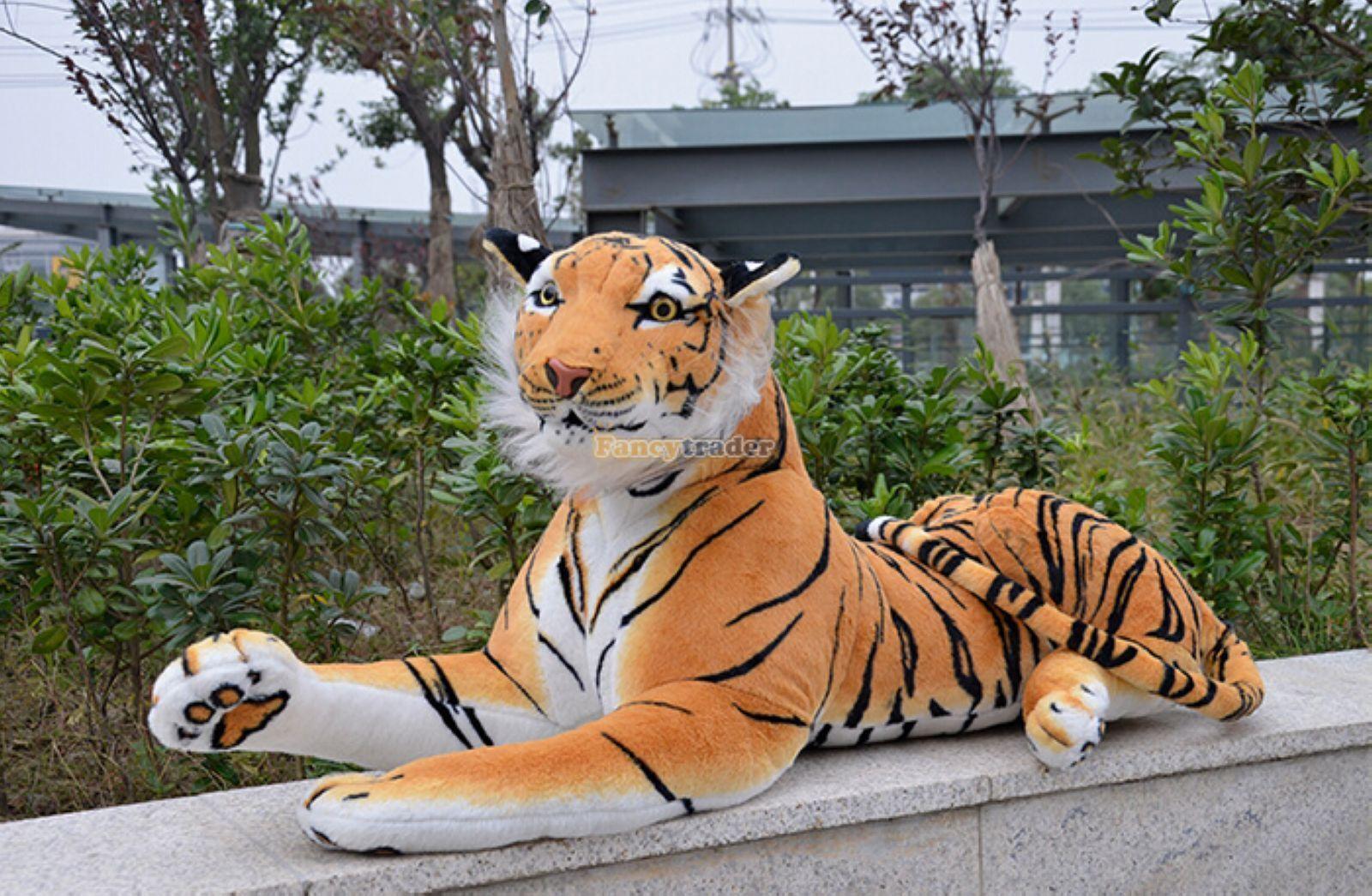 67'' Huge Giant Likelife Tiger Plush Stuffed Emulational Toys Animal doll gift