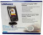 Lowrance Elite-4x HDI Fishfinder with 83/200 Transom Mount Transducer