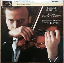 ASD 584 Bloch Concerto for Violin and Orchestra / Yehudi Menuhin / Kletzki S/C