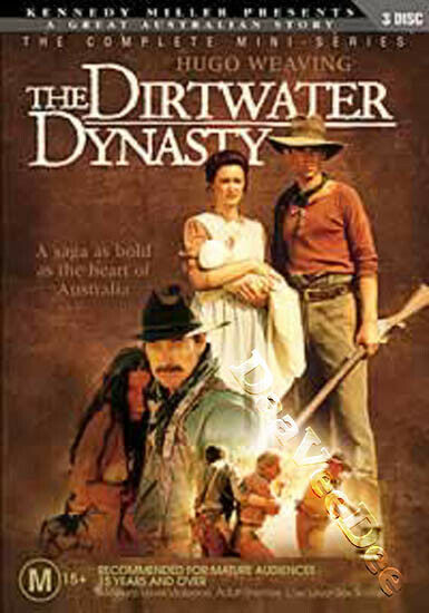 The Dirtwater Dynasty NEW PAL Rare 3-DVD Set