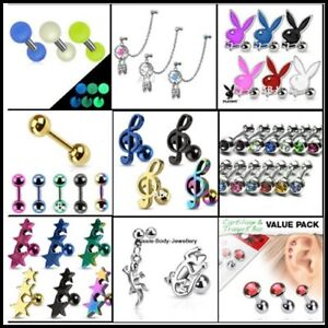 CLEARANCE-Tragus-Cartilidge-Eyebrow-Piercing-Jewellery