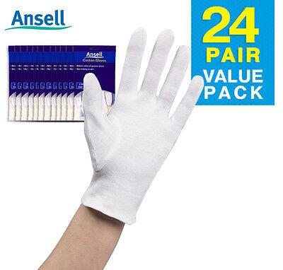 Ansell Cotton Gloves 2pairs per pack x 144 packs (288 pairs) * BULK BUY *