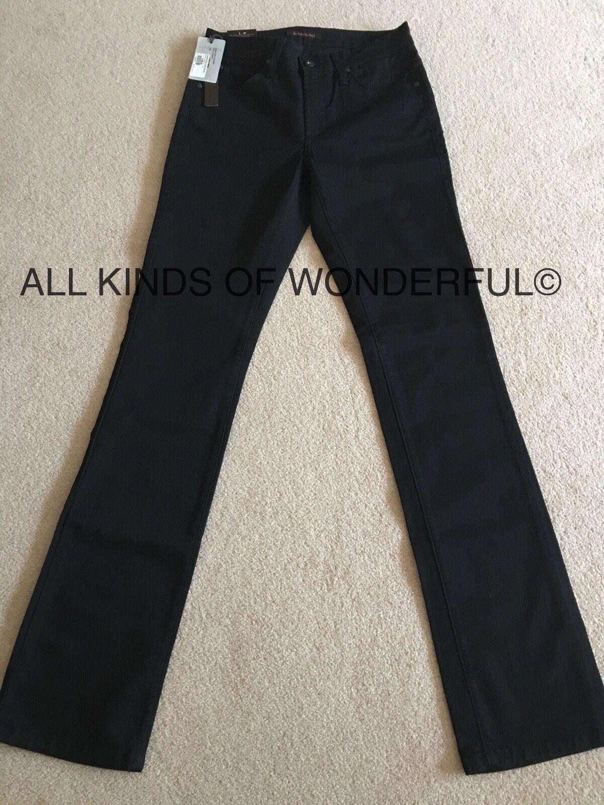 James Jeans Hunter High Class Straight in schwarz Shadow  BNWT