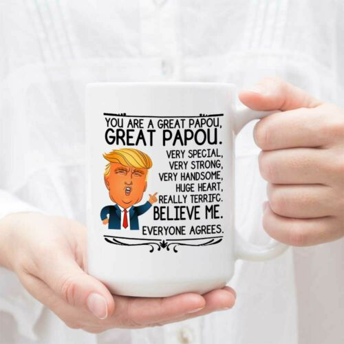 Funny Donald Trump Present for Papou for Thanksgiving Perfect Papou Presents