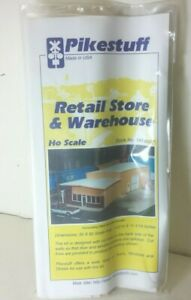 Retail-Store-and-Warehouse-Model-Railroad-Building-Kit-Pikestuff-541-0007