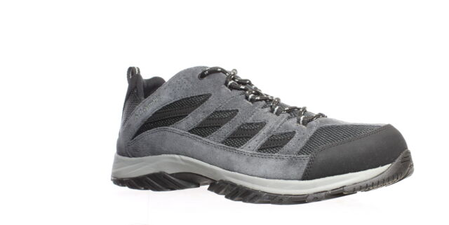 Columbia Mens Crestwood Gray Hiking Shoes Size 13 (Wide) (1440461)