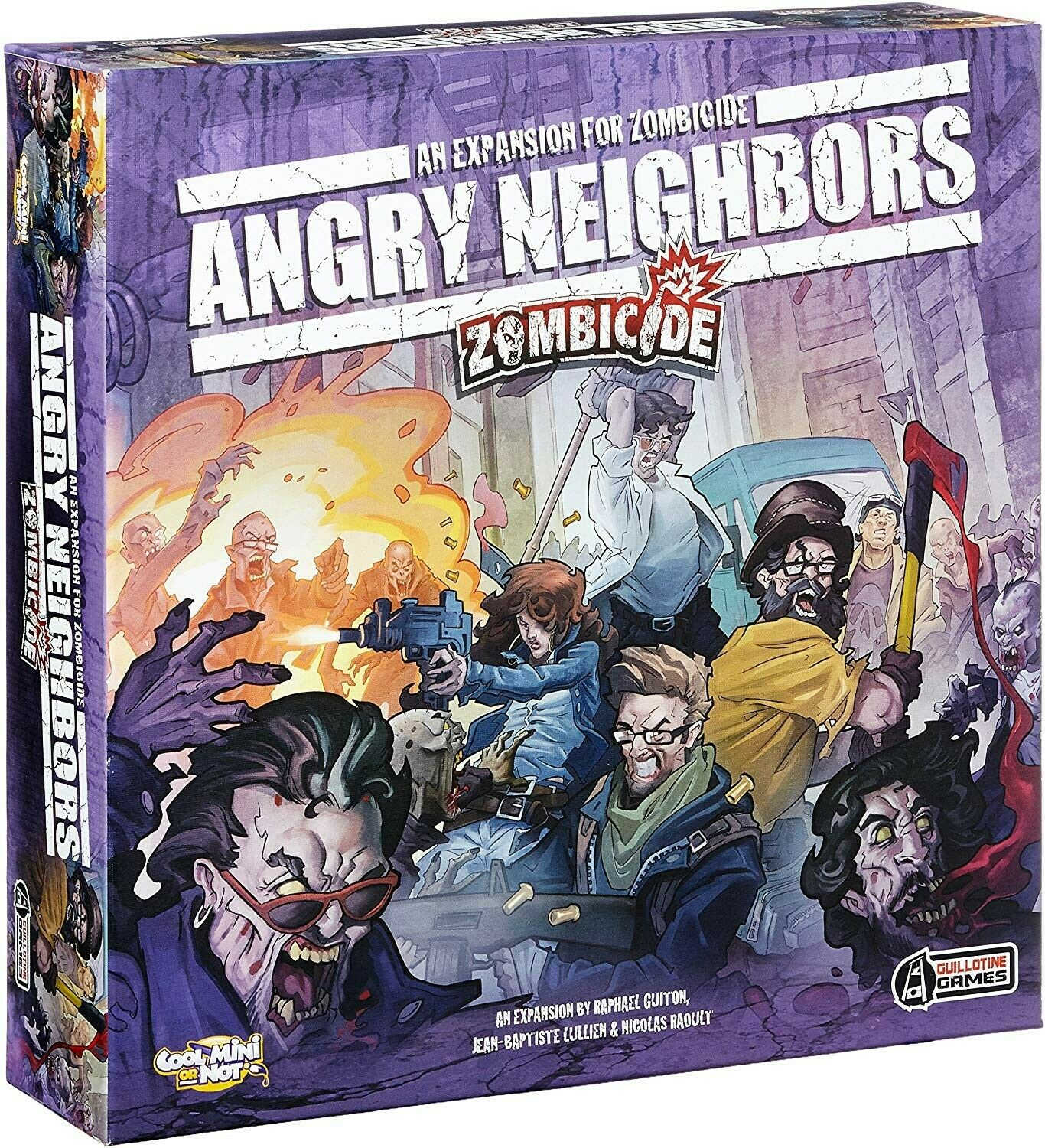 Zombicide  Angry Neighbours Expansion - BNIB