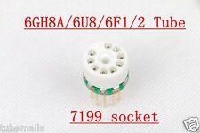 1pc 6GH8A 6U8 ECF80 ECF82 6F2 to 7199 tube converter adapter
