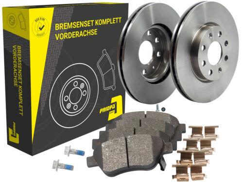 Bremsbeläge Bremsenset Priopa Vorne Opel Adam Corsa 2 Bremsscheiben Ø 257