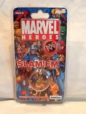 Collectible Marvel Heroes POG Slam'em Slammers Wolverine Funrise Toys NOC