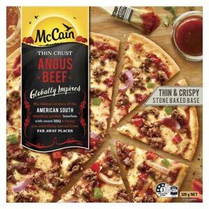 McCain Frozen Ultra Thin Crust Angus Beef Pizza 320g