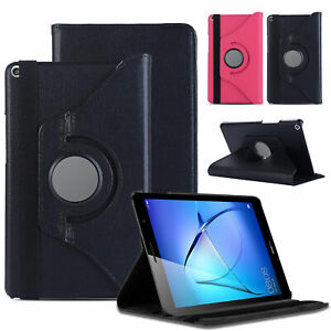 For-Huawei-MediaPad-T3-T5-8-034-10-034-Tablet-360-Rotating-Leather-Case-Flip-Cover