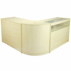 Retail-Counter-Maple-Shop-Display-Storage-Cabinets-Shelves-Glass-Showcase-Galaxy