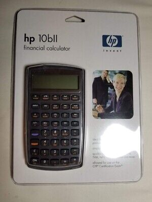 Hp 10bll Financial Calculator For Statistics Math And Science Brand New 25184225995 Ebay