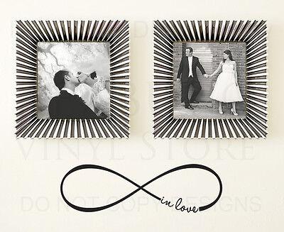 Love Infinity Symbol Wall Decal Vinyl Sticker Art Decoration Decor Mural G18